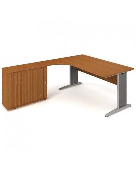 sestava prava 180cm 3 - Delso - dětský, kancelářský a bytový nábytek