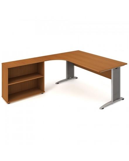 sestava prava 180cm 4 - Delso - dětský, kancelářský a bytový nábytek