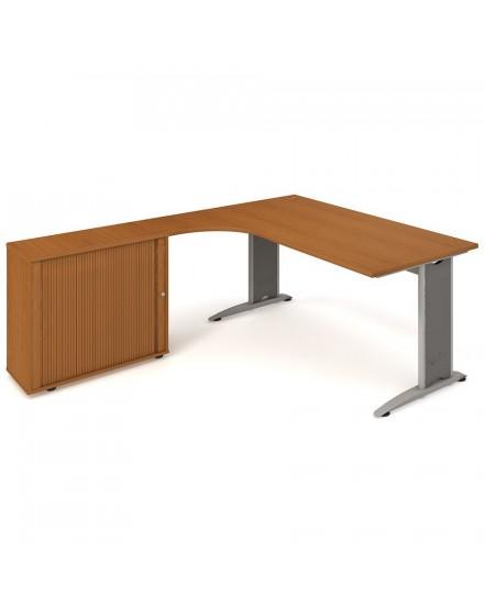 sestava prava 180cm 9 - Delso - dětský, kancelářský a bytový nábytek