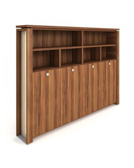 skrin ctyrdverova s vesakem zavrena otevrena 1 - Delso - dětský, kancelářský a bytový nábytek