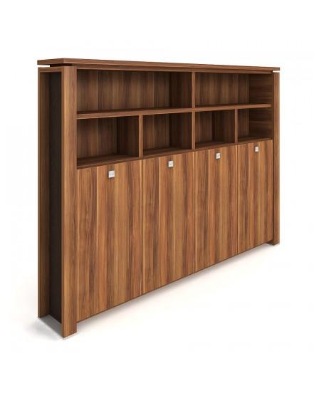 skrin ctyrdverova s vesakem zavrena otevrena 2 - Delso - dětský, kancelářský a bytový nábytek