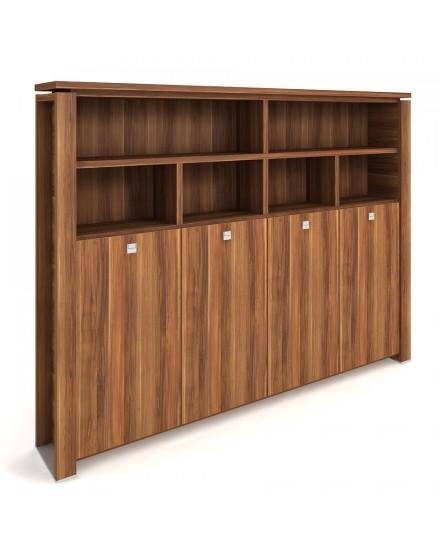 skrin ctyrdverova s vesakem zavrena otevrena 3 - Delso - dětský, kancelářský a bytový nábytek