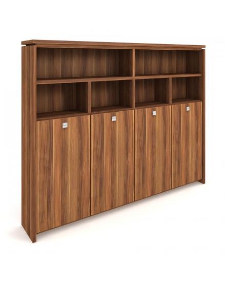 skrin ctyrdverova s vesakem zavrena otevrena - Delso - dětský, kancelářský a bytový nábytek