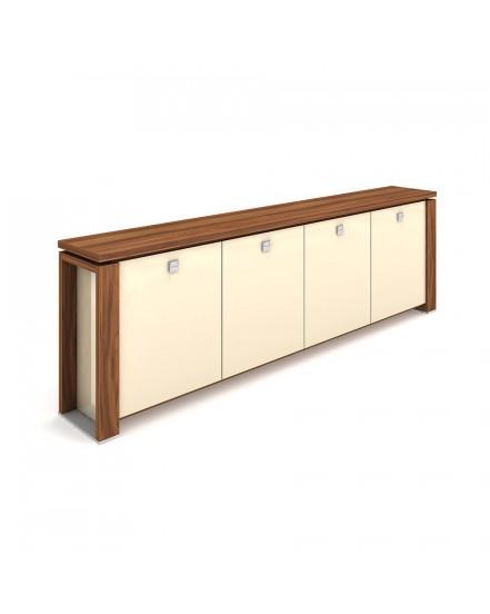 skrin ctyrdverova sklenene dvere 2 - Delso - dětský, kancelářský a bytový nábytek