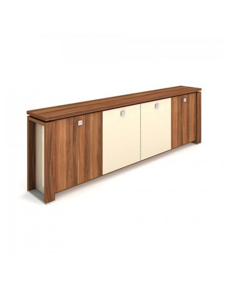 skrin ctyrdverova sklenene dvere 3 - Delso - dětský, kancelářský a bytový nábytek