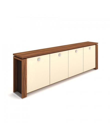 skrin ctyrdverova sklenene dvere 4 - Delso - dětský, kancelářský a bytový nábytek