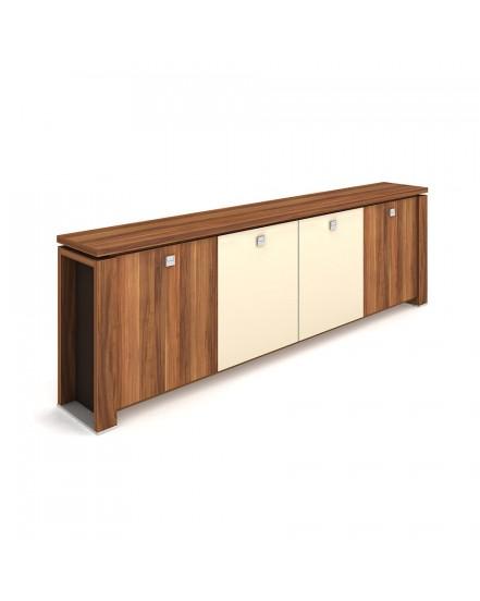 skrin ctyrdverova sklenene dvere 5 - Delso - dětský, kancelářský a bytový nábytek