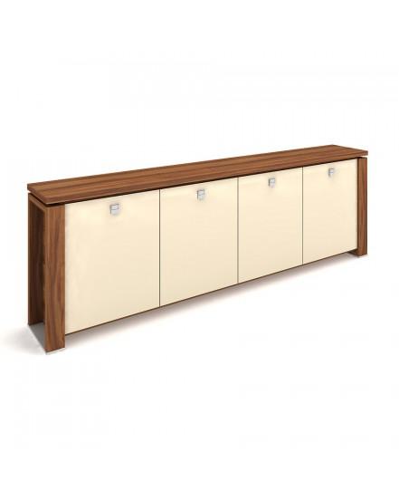 skrin ctyrdverova sklenene dvere 6 - Delso - dětský, kancelářský a bytový nábytek