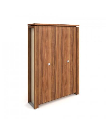 skrin dvoudverova s vesakem zavrena 1 - Delso - dětský, kancelářský a bytový nábytek