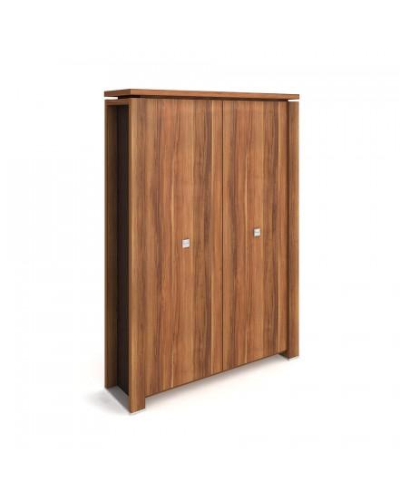 skrin dvoudverova s vesakem zavrena 2 - Delso - dětský, kancelářský a bytový nábytek