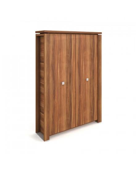 skrin dvoudverova s vesakem zavrena 3 - Delso - dětský, kancelářský a bytový nábytek