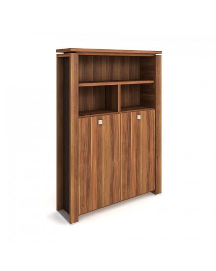 skrin dvoudverova s vesakem zavrena otevrena 2 - Delso - dětský, kancelářský a bytový nábytek