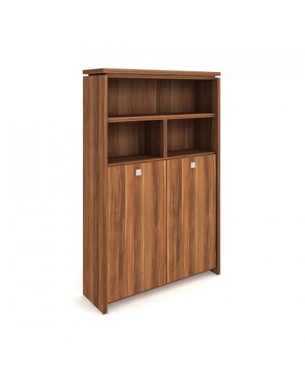 skrin dvoudverova s vesakem zavrena otevrena - Delso - dětský, kancelářský a bytový nábytek