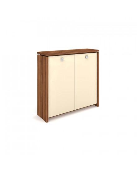 skrin dvoudverova sklenene dvere 1 - Delso - dětský, kancelářský a bytový nábytek