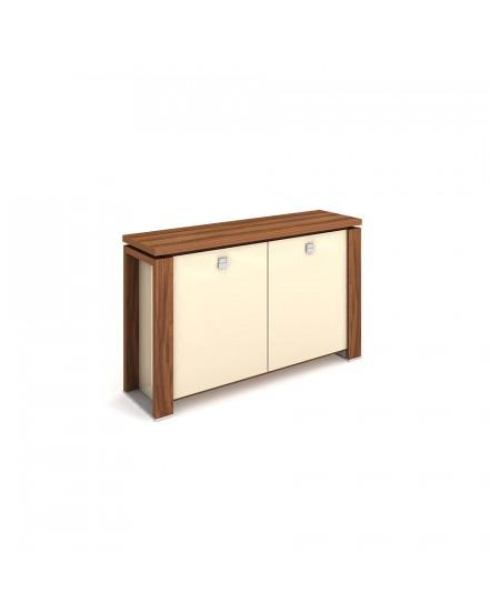 skrin dvoudverova sklenene dvere 2 - Delso - dětský, kancelářský a bytový nábytek