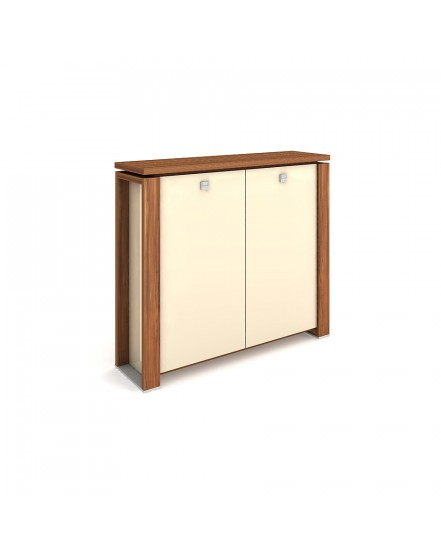 skrin dvoudverova sklenene dvere 3 - Delso - dětský, kancelářský a bytový nábytek