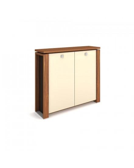 skrin dvoudverova sklenene dvere 5 - Delso - dětský, kancelářský a bytový nábytek