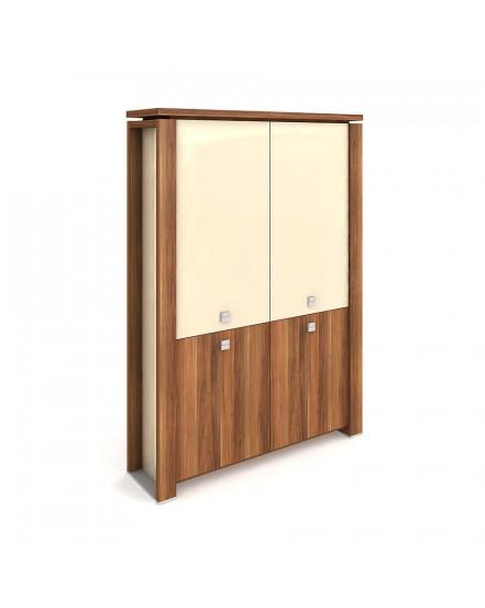 skrin dvoudverova zavrena sklenene dvere 1 - Delso - dětský, kancelářský a bytový nábytek