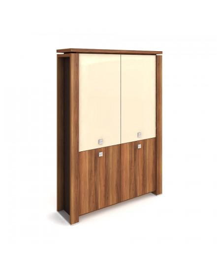 skrin dvoudverova zavrena sklenene dvere 2 - Delso - dětský, kancelářský a bytový nábytek