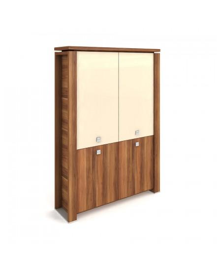 skrin dvoudverova zavrena sklenene dvere 3 - Delso - dětský, kancelářský a bytový nábytek