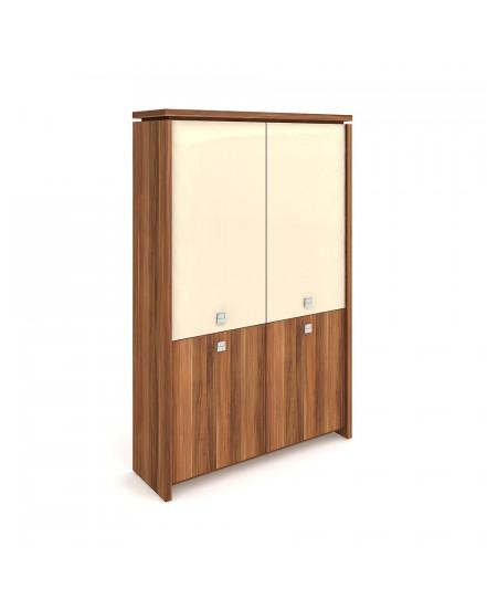 skrin dvoudverova zavrena sklenene dvere - Delso - dětský, kancelářský a bytový nábytek