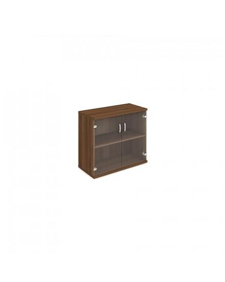 skrin oh 2 80cm sklenene dvere - Delso - dětský, kancelářský a bytový nábytek