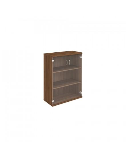 skrin oh 3 80cm sklenene dvere - Delso - dětský, kancelářský a bytový nábytek