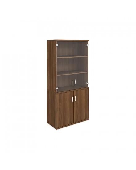 skrin oh 5 80cm zavrena sklenene dvere 1 - Delso - dětský, kancelářský a bytový nábytek