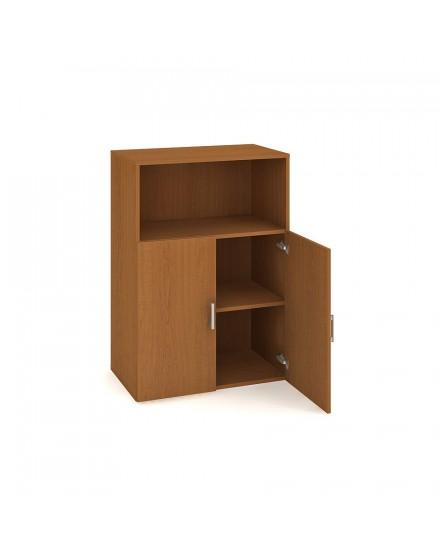 skrin policova dverova 11180cm 1 - Delso - dětský, kancelářský a bytový nábytek