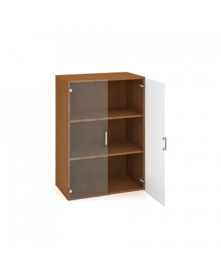 skrin policova dverova 11180cm 2 - Delso - dětský, kancelářský a bytový nábytek