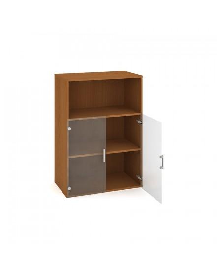skrin policova dverova 11180cm 3 - Delso - dětský, kancelářský a bytový nábytek