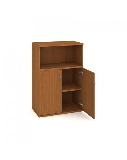skrin policova dverova 115280cm 1 - Delso - dětský, kancelářský a bytový nábytek