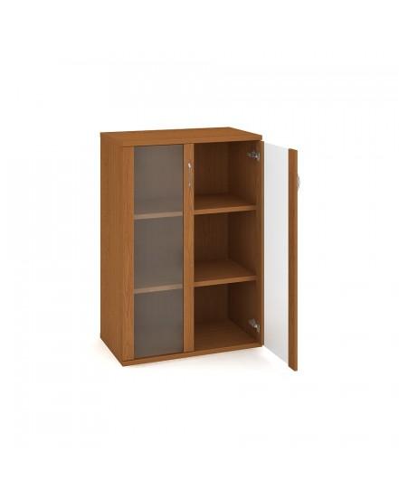 skrin policova dverova 115280cm 2 - Delso - dětský, kancelářský a bytový nábytek