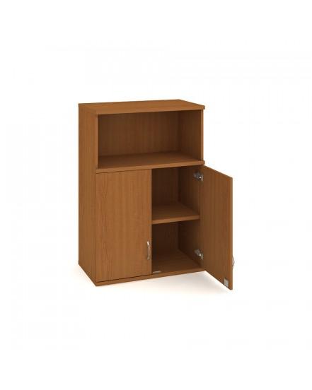 skrin policova dverova 115280cm 7 - Delso - dětský, kancelářský a bytový nábytek