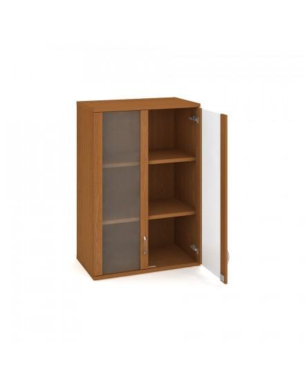 skrin policova dverova 115280cm 8 - Delso - dětský, kancelářský a bytový nábytek