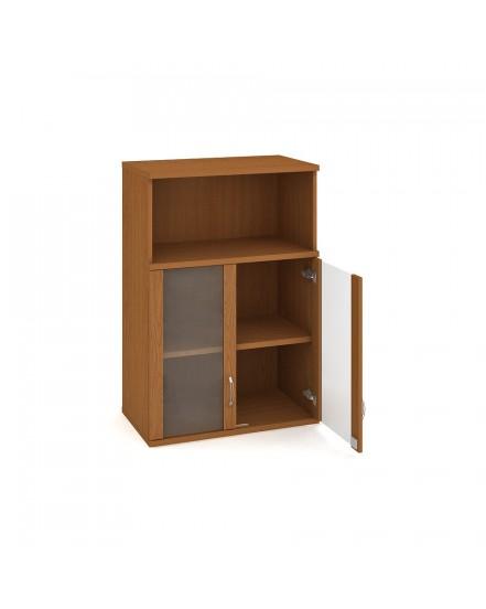 skrin policova dverova 115280cm 9 - Delso - dětský, kancelářský a bytový nábytek