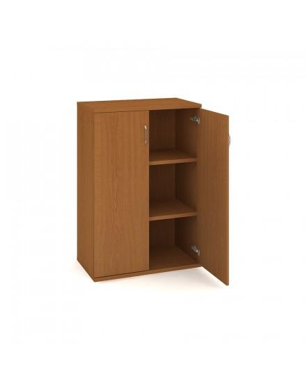 skrin policova dverova 115280cm - Delso - dětský, kancelářský a bytový nábytek