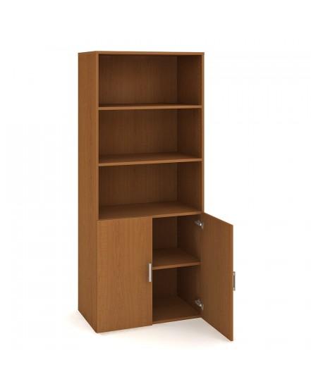 skrin policova dverova 18580cm 1 - Delso - dětský, kancelářský a bytový nábytek