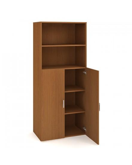 skrin policova dverova 18580cm 2 - Delso - dětský, kancelářský a bytový nábytek