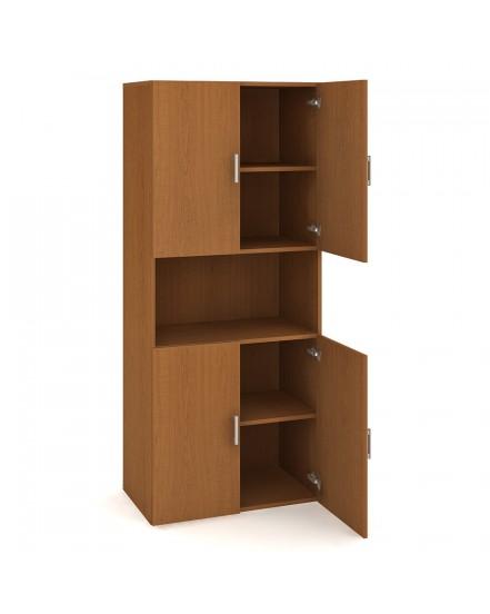 skrin policova dverova 18580cm 3 - Delso - dětský, kancelářský a bytový nábytek
