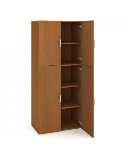 skrin policova dverova 18580cm 4 - Delso - dětský, kancelářský a bytový nábytek