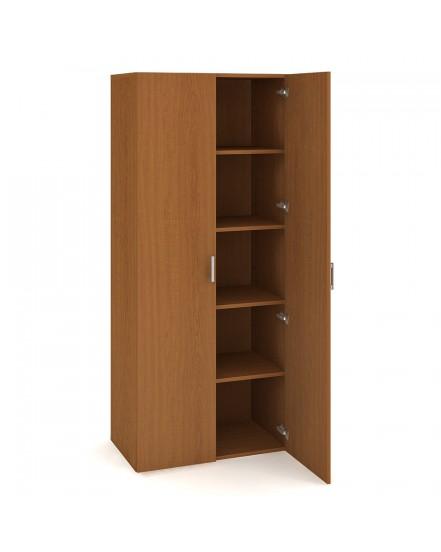 skrin policova dverova 18580cm - Delso - dětský, kancelářský a bytový nábytek