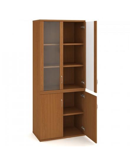 skrin policova dverova 19280cm 7 - Delso - dětský, kancelářský a bytový nábytek