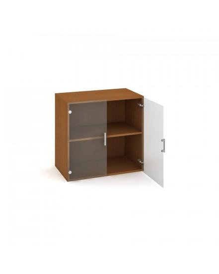 skrin policova dverova 7480cm 1 - Delso - dětský, kancelářský a bytový nábytek