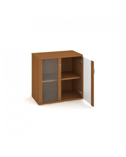 skrin policova dverova 76880cm 1 - Delso - dětský, kancelářský a bytový nábytek