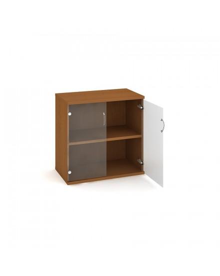 skrin policova dverova 76880cm 2 - Delso - dětský, kancelářský a bytový nábytek
