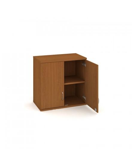 skrin policova dverova 76880cm 3 - Delso - dětský, kancelářský a bytový nábytek