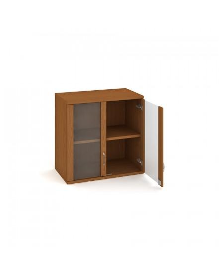 skrin policova dverova 76880cm 4 - Delso - dětský, kancelářský a bytový nábytek
