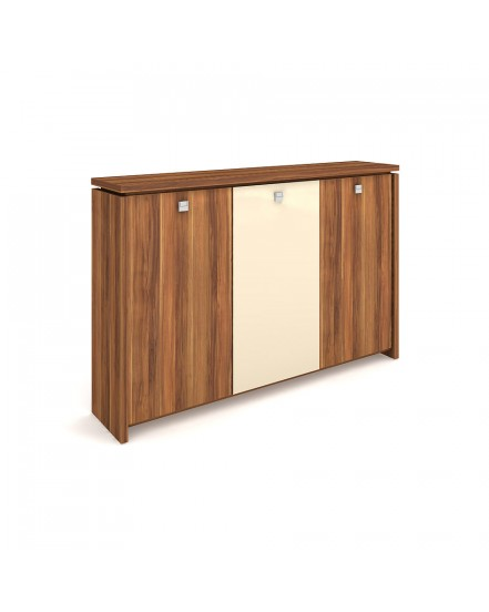 skrin tridverova s vesakem sklenene dvere 1 - Delso - dětský, kancelářský a bytový nábytek