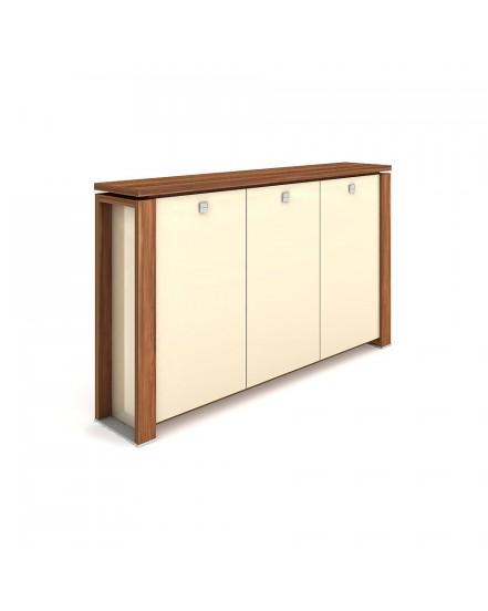 skrin tridverova s vesakem sklenene dvere 2 - Delso - dětský, kancelářský a bytový nábytek